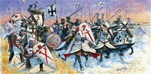 Zvezda-8016-1-72-Lot-de-Figurines-Livonian-Knights-Neuf