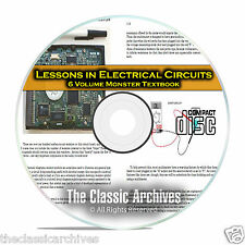 Lessons in Electrical Circuits Electric Electronics 6 Volume Course Books CD C03