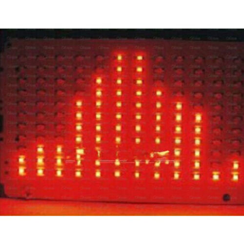 FFT 8x8 Audio Indikator Red DIY Kit FFT Voice Frequency Control LED Precis AHS