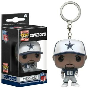 Funko-POP-Keychain-NFL-Dez-Bryant-Vinyl-Action-Figure-New-In-Box