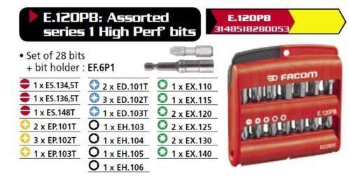 Set NEU PB SWISS TOOLS E6-192 Precision Bits Bit Bitset PZ Pozidriv 4-tlg