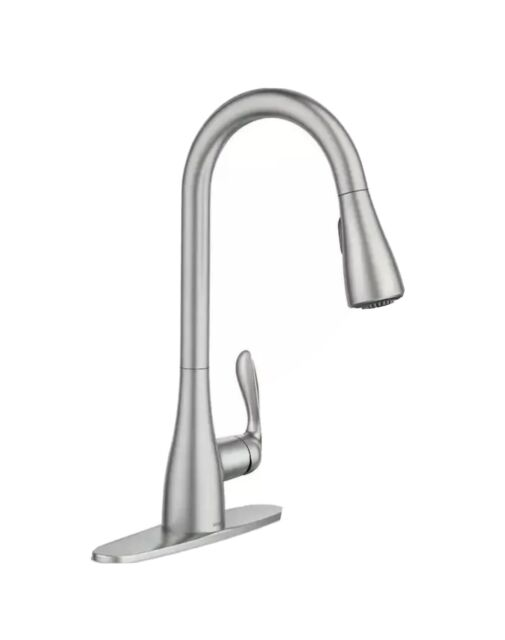 Moen Georgene 87912SRS Stainless 1-Handle Pulldown Kitchen Faucet Missing Pieves