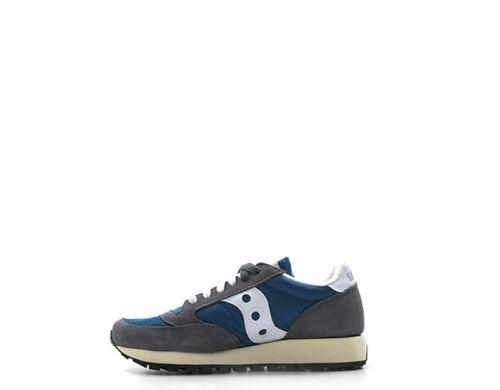 Blu Schuhe wildleder Saucony Frau Stoff S60368 28 TFJcK1l3