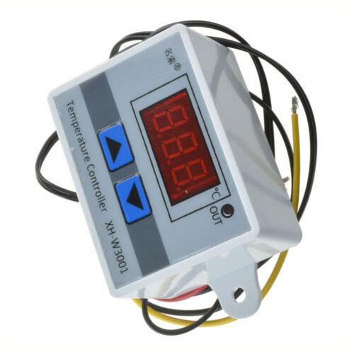 DC12V 10 A DEL numérique température Contrôleur Thermostat contrôle interrupteur sonde S