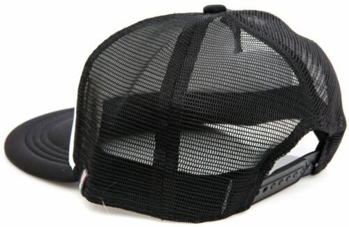 RockShox Action Is Everything Mesh Trucker Hat ONE SIZE White Black Snap Close