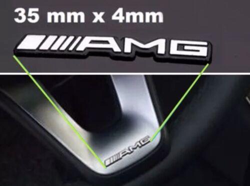 Emblem Lenkrad AMG Mercedes Logo Lenkung Emblem Klasse B C E SLK Lautsprecher