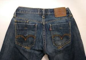 Levi-039-s-034-The-Original-Jeans-034-Men-039-s-Size-30x32-Slim-Straight-Zipper-Fly-Jeans-B5