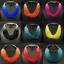 Fashion-Boho-Crystal-Pendant-Choker-Chain-Statement-Necklace-Earrings-Jewelry thumbnail 5