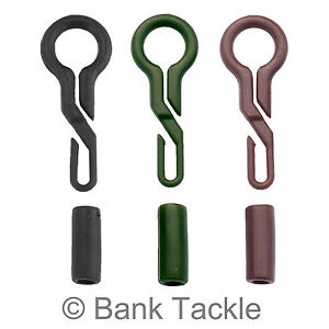 20X Back Lead Clips Army Green Carp Fishing Tackle Lead Weight Conversion Line