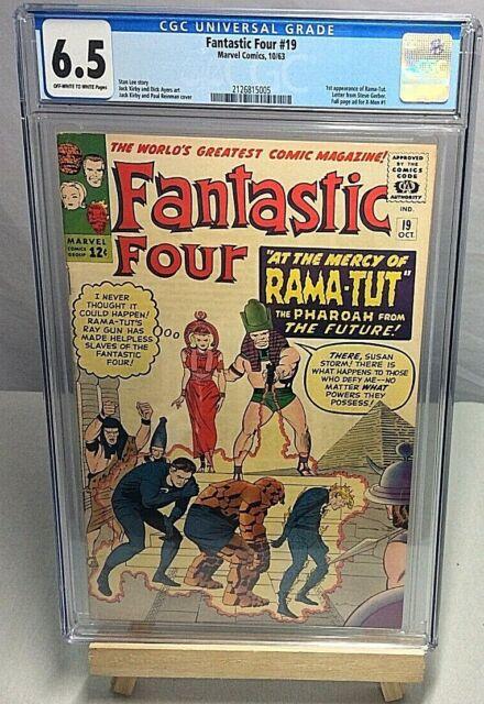 Fantastic Four 19 Oct 1963 Marvel For Sale Online Ebay