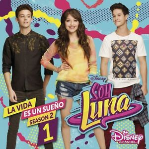 Details About Elenco De Soy Luna Soy Luna La Vida Es Un Sueno Staffel 2vol1 Cd New