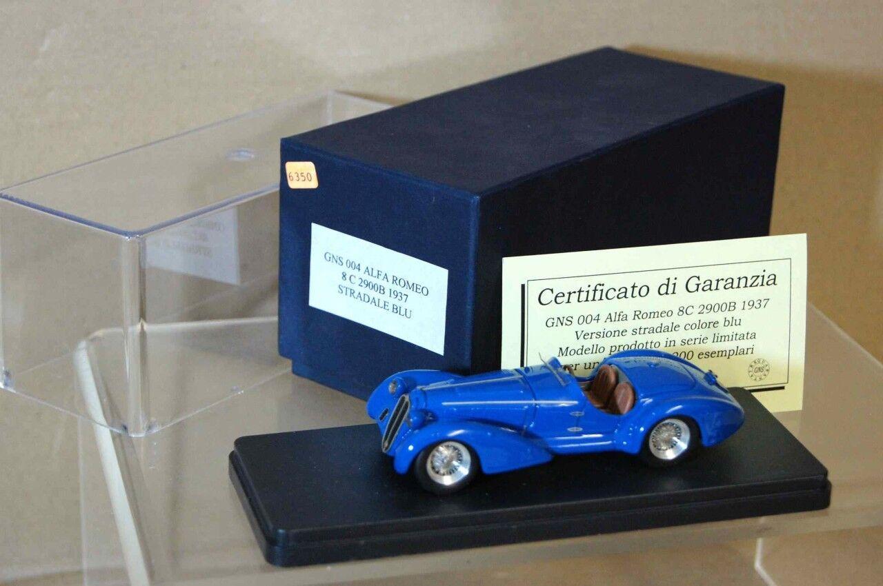 43 GNS 004 modèle 1937 ALFA ROMEO 8C 2900B Cabriolet AR