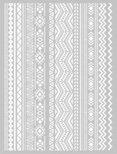 Estarcido-Serigrafia-Para-arcilla-polimerica-Azteca-Graine-creative