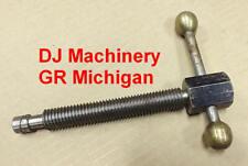 58 11 Threads Mill Machine Vise Handle Antique Part Threaded Rod Vintage Brass