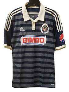 568ebb78f Adidas Men's CHIVAS DE GUADALAJARA AWAY 14/15 Soccer Jersey Marine ...