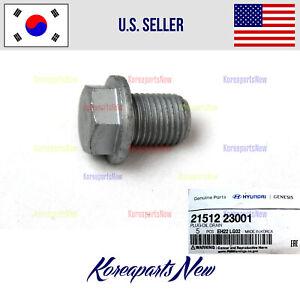 Kia 21512-23001 Engine Oil Drain Plug