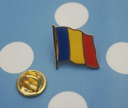 Tschad Pin Anstecker Flaggenpin Anstecknadel Button