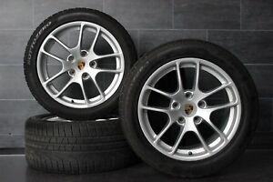 Original Porsche Boxster Cayman 981 Alufelgen Winterräder 235 265 r18 18 Zoll