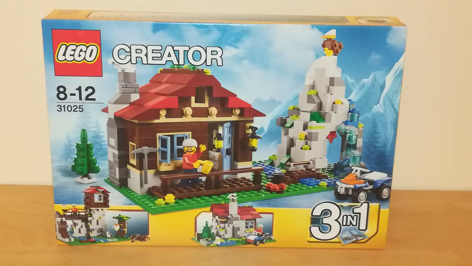 LEGO Creator 31025 MOUNTAIN HUT 3 in 1 - Brand new sealed boxASet