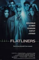 Flatliners Movie Poster - Julia Roberts, Kiefer Sutherland - 11 X 17 Inches
