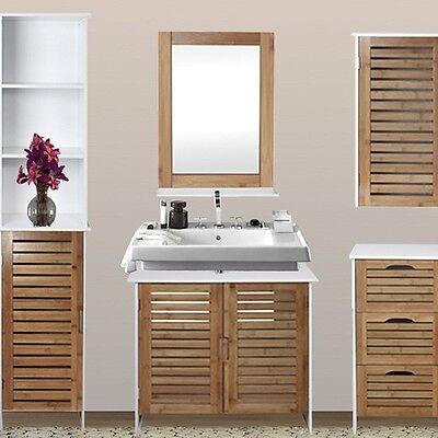 Mobile bagno mobile lavabo bagno legno robusto design for Mobile bagno legno