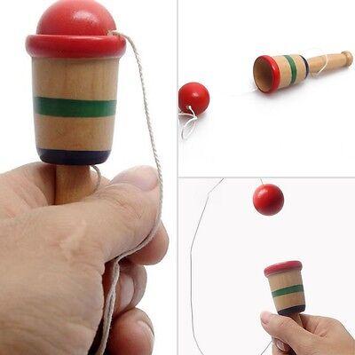 Kendama Cup und Ball Spiel Traditionelle japanische Holz Holz pädagogischen