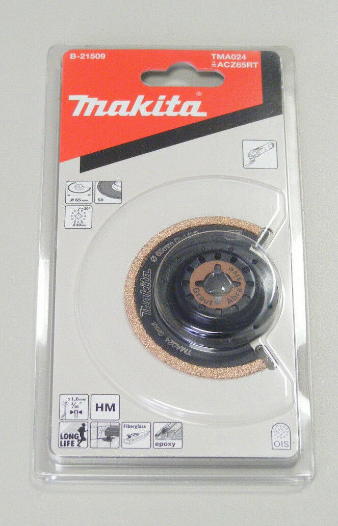 Makita B-21509 HM-Segmentsaegebl.65 TMA024
