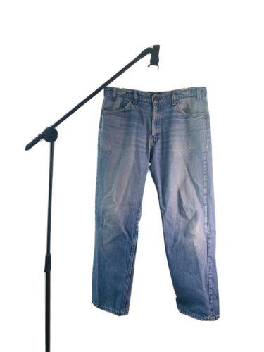 Vintage 1980s Levis 550 Orange Tab Jeans (Size 36X