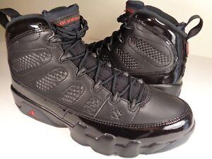 27630b59bd44c9 Nike Air Jordan Retro 9 IX Bred Black University Red SZ 9 (302370 ...