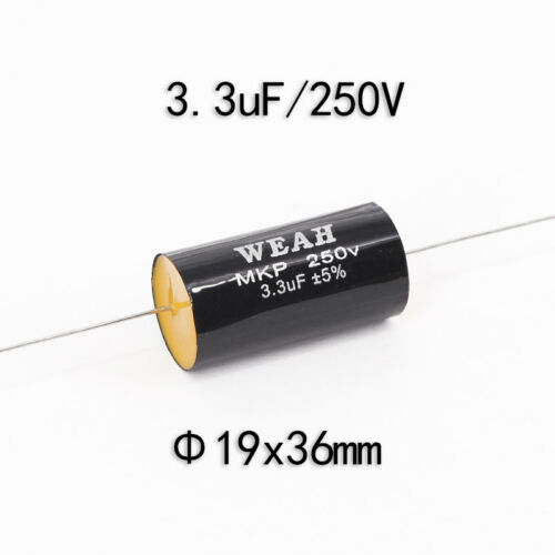 1pcs 0.22uF-15uF 250V Speaker Frequency Divider Crossover Non-Polarity Capacitor
