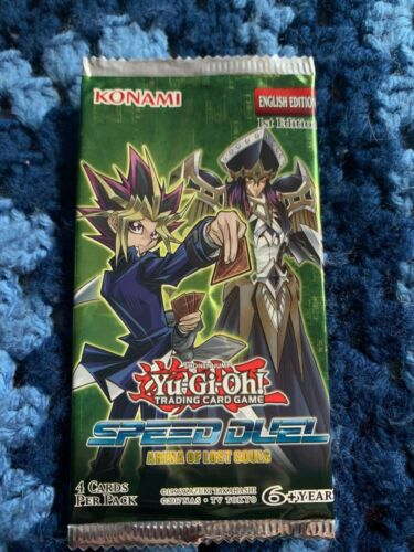 Yu-Gi-Oh Arena Of Lost Souls Booster Pack TCG Speed Duel