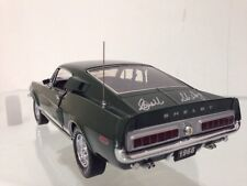 1968 Shelby GT 500 Mustang Hand Signed By Carroll Shelby