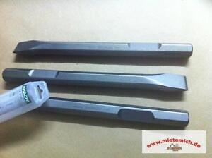 Meißel Meissel Sechskant 28mm Hitachi Flachmeissel GSH27 USH27 HSH28 751522 40cm