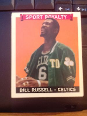2008 Upper Deck Goudey Mini Red Back #277 Bill Russell Boston Celtics Card