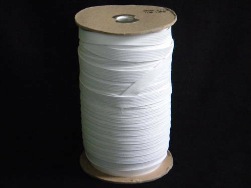 """3 Rolls Knitted Elastic  3//8/"""" ~144 Yards//each Roll White~Soft"""