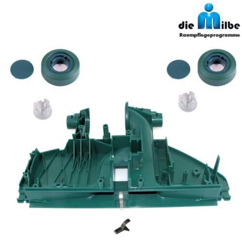 Bodenplatte-Bodengruppe+2 Räder-Rad geeignet f.Vorwerk Elektro-Bürste EB 350-351