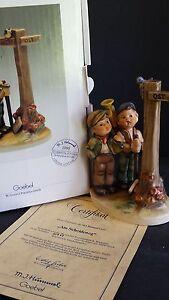 Hummel-Goebel-CROSSROADS-SIGN-DOWN-331-1990-Original-Box-COMMEMORATIVE-Edition