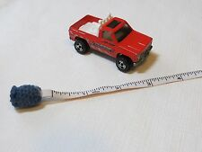 Hot Wheels Mattel 1977 Hi Bank Racing crew chief pit 4X4 red truck sunroof roll