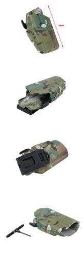 Tactical 579 Standard Holster 16CM Belt System for G17//22//37,HK45 M/&P45 TMC2581