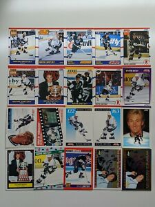 Lot-of-20-1990-039-s-SCORE-AMERICAN-WAYNE-GRETZKY-CARDS-HOT-CARD-GOLD-LINE-N-C-W-A91
