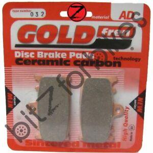 SUZUKI GSXR 1000 K4 2004 /> SINTERED FRONT BRAKE PADS *GOLDFREN* 2 pair