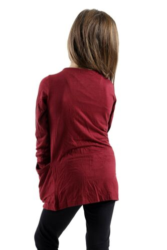 GIRLS KIDS LOVELY NEW OPEN CARDIGANS CARDIGAN SHRUG WITH POCKETS VEST TOP