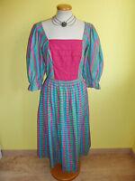 Dirndl Landhauskleid Sportalm Größe 42 Baumwolle und Seide neuwertig