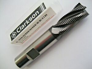16mm LONG SERIES END MILL HSSCo8 TiALN COATED EUROPA TOOL CLARKSON 1081211600 40