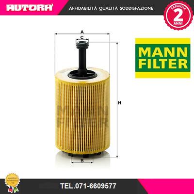 MANN HU9263X Filtro olio