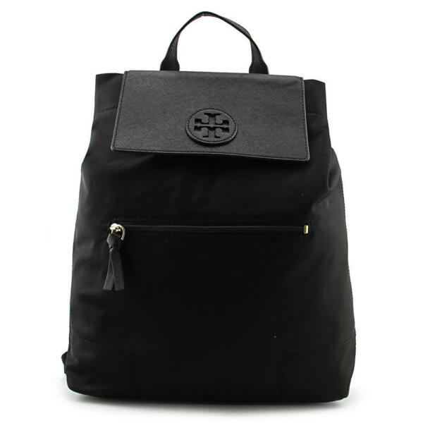bf12f23a728c Tory Burch Ella Packable Backpack 28994 Black for sale online