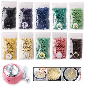 Pearl-Hard-Wax-Beads-Beans-No-strip-Granules-Hot-Film-Waxing-Hair-Removal-100g