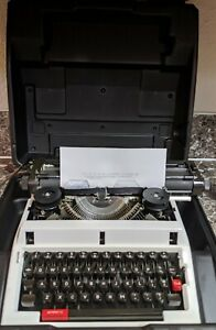 Vintage-Swintec-1200-Mechanical-Typewriter-Tested-amp-Working-w-case-missing-cover
