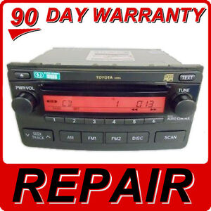 Image Is Loading Repair Service Only Toyota Matrix Radio Cd Player