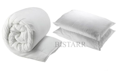 13.5 10.5 DUVET AND 2 PILLOWS 15 TOG QUILT SINGLE DOUBLE KING SUPER KING 4.5